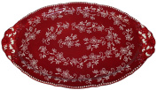 Temp-tations Platter Serving Tray 46cm Xlarge - Old World or Floral Lace pattern