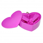 Pink Heart-Shaped Pencil Sharpener - Party Bag Fillers / Christmas Stocking Fillers