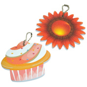 Pack of 2 Girls Ladies Novelty Shaped Nail Files - Party Bag Fillers / Christmas Stocking Fillers