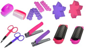 Pack of 6 Girls Ladies Cosmetics Gift Set - Party Bag Fillers / Christmas Stocking Fillers
