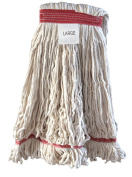Blended Looped End Wet Mop Head - 4-ply Blended Cotton/Rayon/Polyester