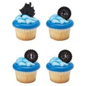 Pirates of the Caribbean Pirate's Life Cupcake Rings - 24 pc
