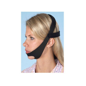 CPAP Chin Restraint Chin Strap Black Support for CPAP sleep apnea Must Haves