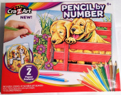 Cra-Z-Art Pencil By Colour 2 Puppy Posters
