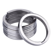 Outus 5 Pack Titanium Key Rings 32 mm Split Rings