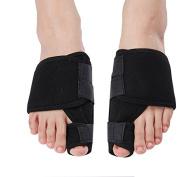 iZoeL Hallux Valgus Corrector Bandage Big Toe Realignment Toe Spreader Toe Corrector Bunion Splint Bunion Corrector and Pain Relief 1 Pair