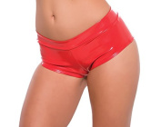 Second Skin Red Shorts, Small