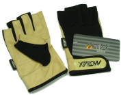Sailing gloves – Beige Elegant Look with Flexible Anpassungsfähiger Back Sailing Gloves Lycra Size S/M – XXXL