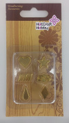 Hot Craft Hobby Wood & Leather Drawing Tip Set E - 6 pieces
