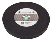 Country Brook Design 2.5cm Black Heavy Cotton Webbing, 10 Yards