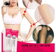 Powerful Depilatory Hair Removal Cream Hair Growth Inhibitor by Rubyshop