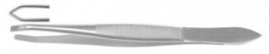 Tweezers, Professional Grade Stainless Steel made in Germany by Rudel: Tweezers traditional 3mm and 5 mm slant and straight (inward angled 3 mm)
