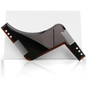 Beard Shaping, Beard Styling & Shaping Template Comb, Shape your beard to perfection with the advanced BTshine