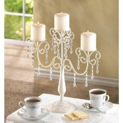 39784 Wholesale Ivory Elegance Candleabra Candles Candle Lantern Fire Heat Light Whmart