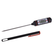 Stainless Steel Thermometer with Probe Kitchen Maintenance for Fridge Microwave Oven