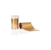 ESTROSA Transfer Effect Holographic Gold