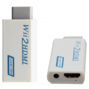 For Wii to HDMI 1080P Converter Wii2HDMI Adapter 3.5mm Audio Video Output Full HD 1080P Output Upscaling