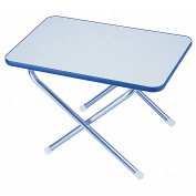 Garelick/Eez-In Folding Deck Table Melamine Top Series - 41cm x 60cm x 41cm