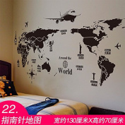 RUGAI-UE 3D stereo wall stickers stickers dorm room wall paper self-adhesive bedroom warm living room wallpaper,G