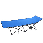 Easy Cot Deluxe Folding Portable Sleeping Bed Camp Sports Home Office Cot with Carry Bag Easy Set Up