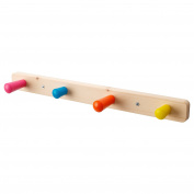 IKEA FLISAT - Knob rack with 4 knobs
