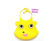 Nalmatoionme Cute Waterproof Adjustable Silicone Baby Bib