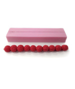 O'Creme Silicone Pearl Fondant Sugar Paste Bead Mould Clay Decorating Mould - Rose String