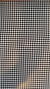 30cm x 38cm Houndstooth Print HTV vinyl for heat transfer , ( this is for one sheet only) Vinyl is brighter than the pictures.