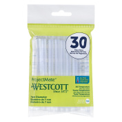 Westcott All Temperature Glue Sticks, 30-Pack
