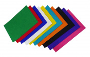 Multicolor Bright Craft Paper A4 Sheets For Decorations Foam Plain Felt Sheet Thick for Scrapbooking, Project Making 9 Pcs