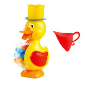 deAO Fun Bath Toys - Cute Duck Waterfall and Mill for Babies and Toddlers Bath Time