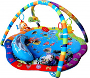 Just4baby Light & Musical Baby Ocean Playmat Play Gym Musical Activity Gym stunning Ocean Sealife