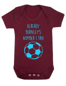 Already Burnley's Number 1 Fan Baby Rompa Suit