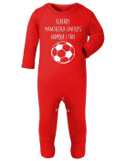Already Manchester United's Number 1 Fan Baby Rompa Suit
