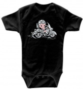 Fan-O-Menal Textilien Baby Boys' Footie black black