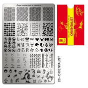 Moyra France Official Shop – Moyra Stamping Plate Orientalist
