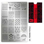 Moyra France Official Shop - Moyra Stamping Plate Femme Fatale