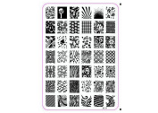 Deesos Nail Art Stainless Steel Polish Image Stamp Stamping Plates Template Manicure Decorazione XY13