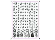 Deesos Nail Art Stainless Steel Polish Image Stamp Stamping Plates Template Manicure Decorazione XY02