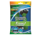 Wilkinson Sword Xtreme Number 3 Duo Disposable Razors for Men, Pack of 6