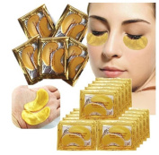 5x Natural Collagen Gold Powder Eye Mas kAnti Ageing face Care Skin Care Eye Patches