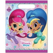 PACK OF 12 SHIMMER AND SHINE PARTY/LOOT BAGS