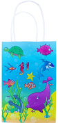 Sealife Paper Bag With Handles