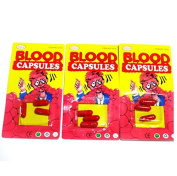MA-on Realistic Blood Capsule Trick Toy for Halloween and April Fool's Day