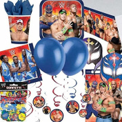 WWE Bash Ultimate Party Supplies Kit for 8