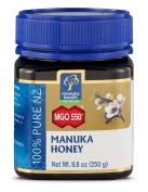 Manuka Health - MGO 550+ Manuka Honey, 100% Pure New Zealand Honey, 260ml