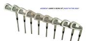 AGXGOLF Men's Sabre Tour Edition Irons Set w/3, 4, 5, 6, 7, 8 & 9 Irons + PW + Bonus Sand Wedge; Right Hand