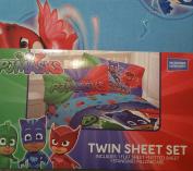 "PJ Masks Twin Sheet Set ""Its Hero Time"""
