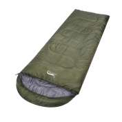 Prettysell Portable and Water Resistant Sleeping Bag for Camping and Hiking