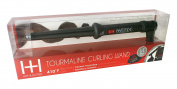 Annie H and H Tourmaline 1/2 2.5cm Tapered Curling Wand, Black